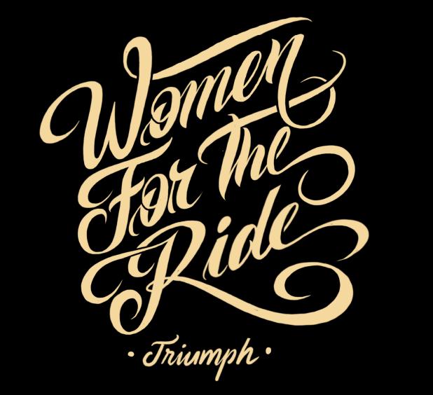 """Triumph cria o projeto inédito """"Women For The Ride"""" direcionado para o público feminino"""