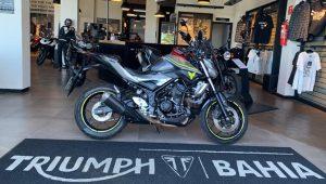 Yamaha MT 03, 321 cc, naked, esportiva, baixa quilometragem, excelente estado