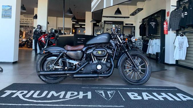 Harley Davidson, XL 883 N Iron, Custom, 2014, 2015, baixa quilometragem, personalizada