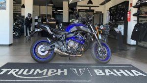 Yamaha MY-07, naked, espotiva, semi-nova