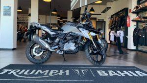 BMW G 310 GS, 2019, uso misto, semi-nova, motocicleta