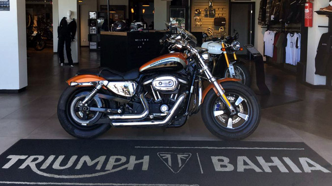 Harley Davidson XL 1200 CA, 2013/2014, semi-nova, 1200 cc, custom