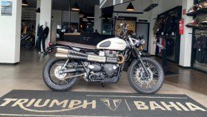 Triumph Scrambler, 2020, naked, semi-nova, 900 cc