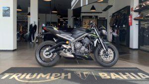 Triumph Street Triple RS, 2020, 765cc, esportiva, desempenho