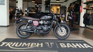 Triumph Bonneville T120 Black, 1.200 cc, clássica, elegante, design