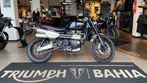 Triumph Scrambler 1200 XC, 2019/2020, 1200 cc, estilo, semi-nova