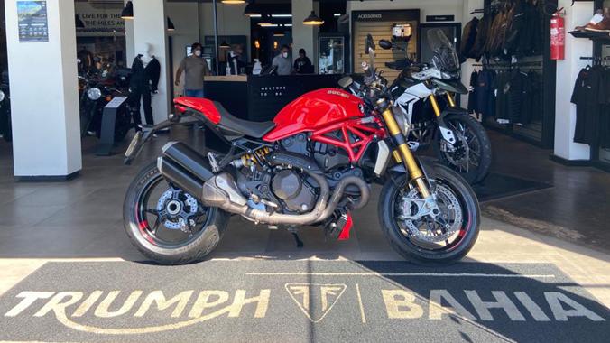 Ducato Monster 1200 S, 2017, 1200 cc, 150 cv, esportiva, semi-nova