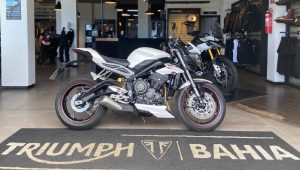 Triumph Street Triple RS, 2019/2020, 765 cc, esportiva, desempenho, original