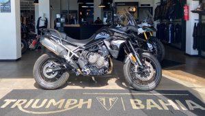 Triumph 900 GT, 2021, 900 cc, semi-nova, big trail