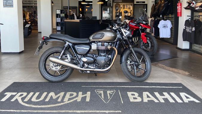 Triumph Bonneville Street Twin, 900 cc, 2019, clássica